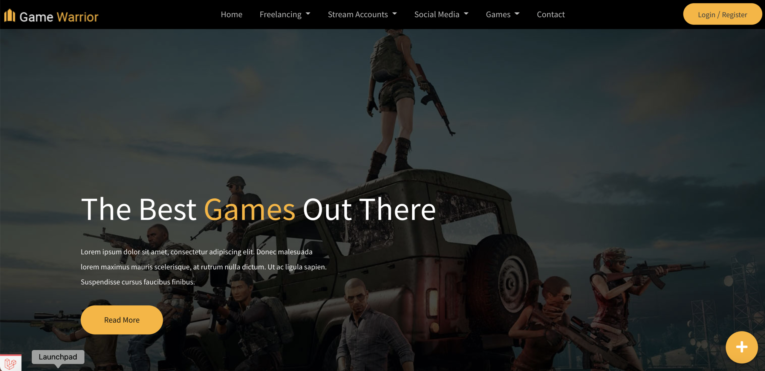 Game Warrior – Games account buying and selling- Laravel Based WebApp